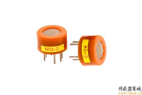 mq-3 酒精传感器,半导体气体传感器
